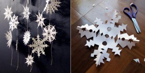 Fiocchi Di Neve Di Carta Facili : Agenda di margherita fai da te fiocchi di neve di carta