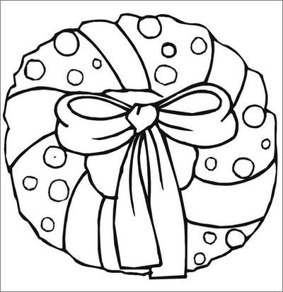 Disegni Di Natale Ghirlande.Agenda Di Margherita Ghirlande Di Natale Da Colorare