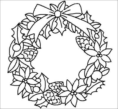 Agenda di margherita ghirlande di natale da colorare for Addobbi natalizi maestra mary