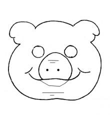 Agenda di margherita maschere di carnevale da stampare e for Maschere da colorare animali