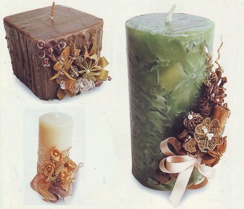 ... spezie,candele decorate,candele decorate fai da te,candele fai da te