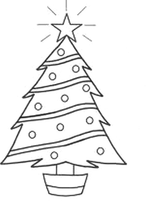 Agenda di margherita disegni alberi di natale da colorare for Disegni natale da colorare