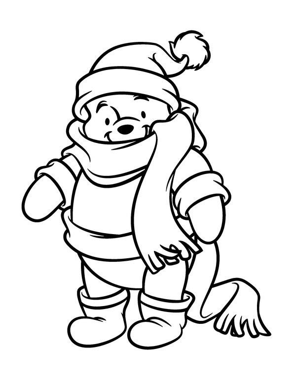 baby pooh clipart coloring pages - photo#26