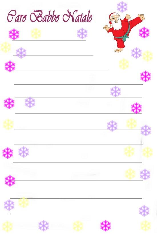 Lettere per babbo natale da colorare e stampare - Babbo natale da colorare fogli da colorare ...