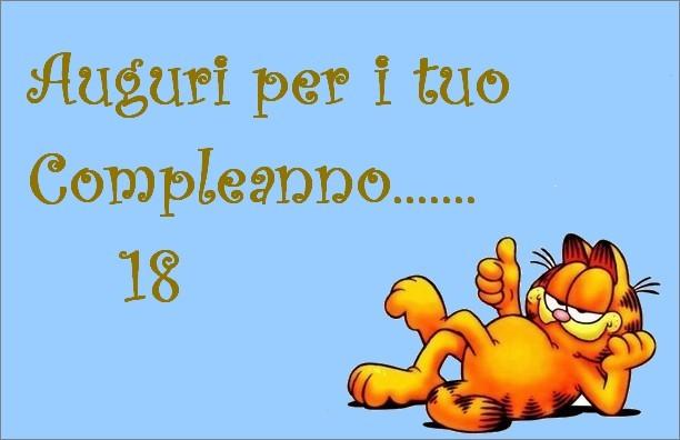 Favoloso Agenda di Margherita: Biglietti di auguri compleanno 18 anni FE75
