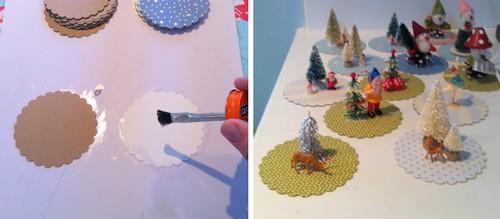 Agenda di margherita decorazioni campane per l 39 albero di for Addobbi natalizi con bicchieri di plastica