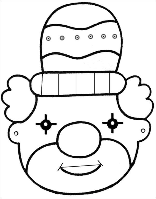 agenda di margherita maschere di carnevale da stampare e