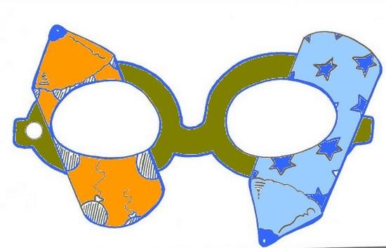 Agenda di margherita maschere di carnevale da stampare for Maschere di animali di carnevale da colorare