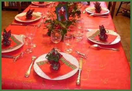 Agenda di margherita come decorare la tavola natalizia - Addobbi finestra natale ...