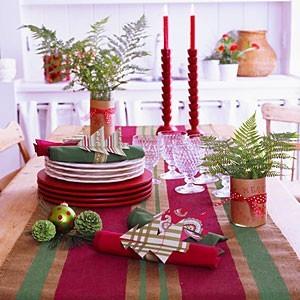 Agenda Di Margherita Come Dipingere Una Tovaglia Per Natale